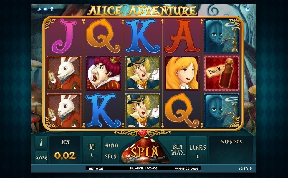 Alice Adventure Pokie