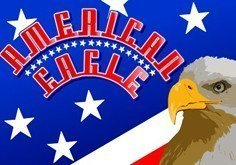 American Eagle Pokie Logo