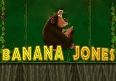 Banana Jones Pokie Logo