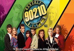 Beverly Hills 90210 Pokie Logo
