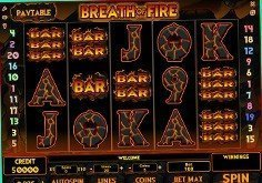 Breath Of Fire Pokie Logo