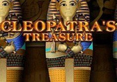Cleopatra 8217s Treasure Pokie Logo