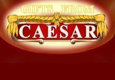 Gifts From Caesar Pokie Logo