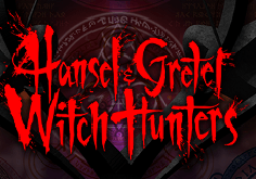 Hansel 038 Gretel Witch Hunters Pokie Logo