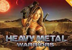 Heavy Metal Warriors Pokie Logo