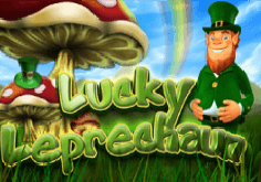 Lucky Leprechaun Pokie Logo