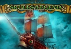 Skulls Of Legend Pokie Logo