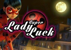 Super Lady Luck Pokie Logo
