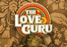 The Love Guru Pokie Logo