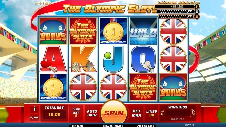 Olympics Slots Themes Online