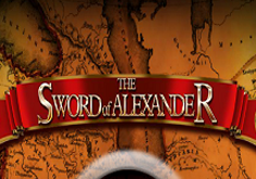 The Sword Of Alexander Pokie Logo