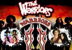 The Warriors Pokie Logo