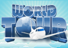 World Tour Pokie Logo