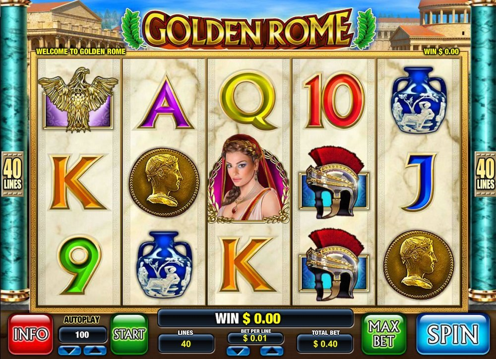 Golden Rome Pokie
