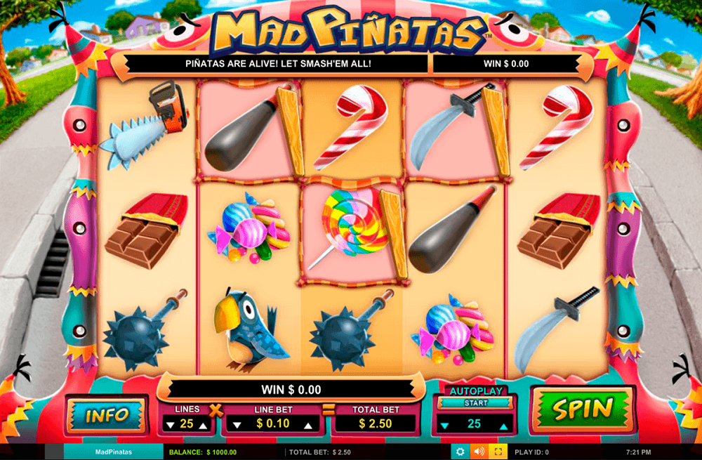 Mad Pinatas Pokie