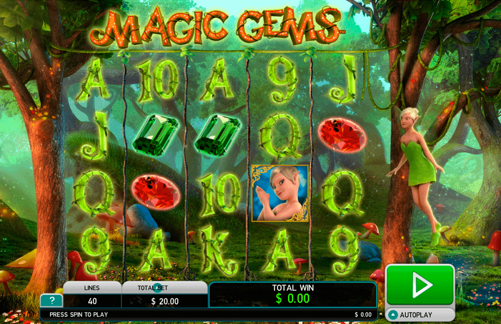 Magic Gems Pokie