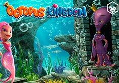 Octopus Kingdom Pokie Logo