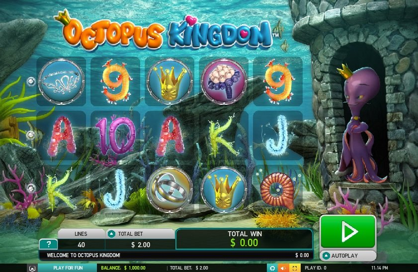 Octopus Kingdom Pokie