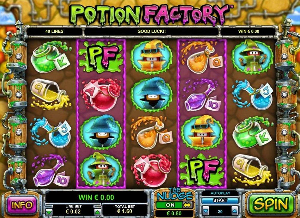 Potion Factory Pokie