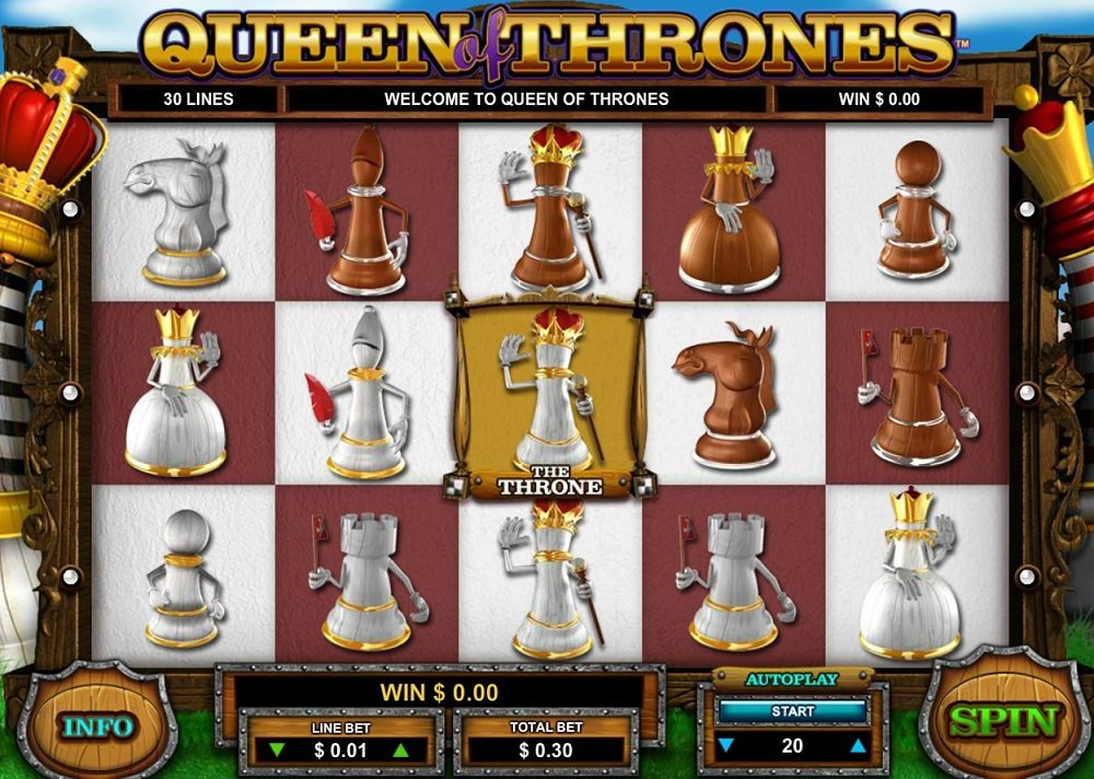 Queen Of Thrones Pokie