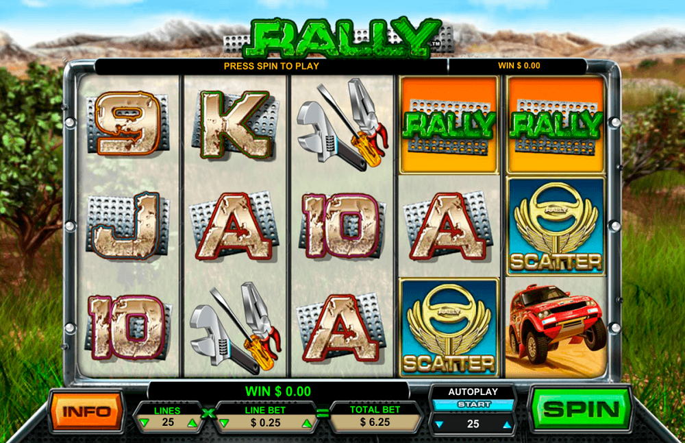 Rally Pokie