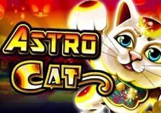 Astro Cat Pokie Logo