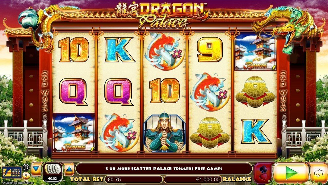 Dragon Palace Pokie