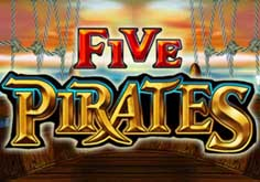 Five Pirates Pokie Logo