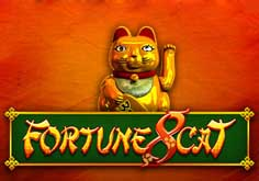 Fortune 8 Cat Pokie Logo