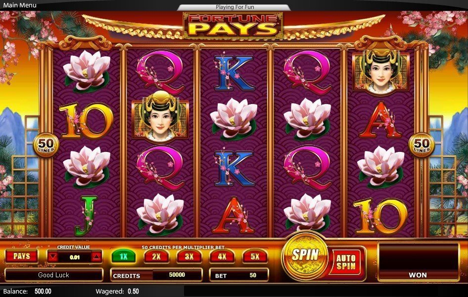 Fortune Pays Pokie