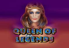 Queen Of Legends Pokie Logo