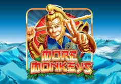 Stellar Jackpot With More Monkeys Pokie Logo