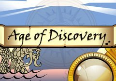 Age Of Discovery Pokie Logo