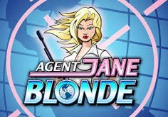 Agent Jane Blonde Pokie Logo