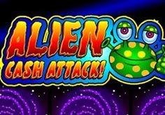 Alien Cash Attack Pokie Logo