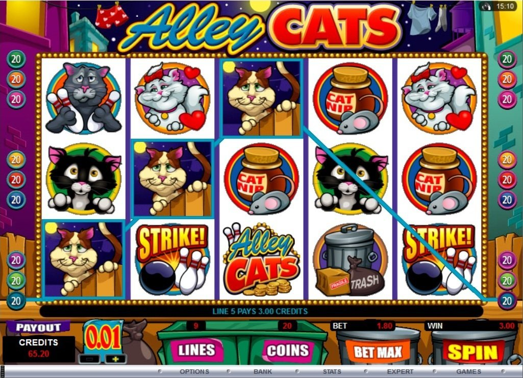 Alley Cats Pokie