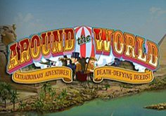 Around The World Pokie Logo