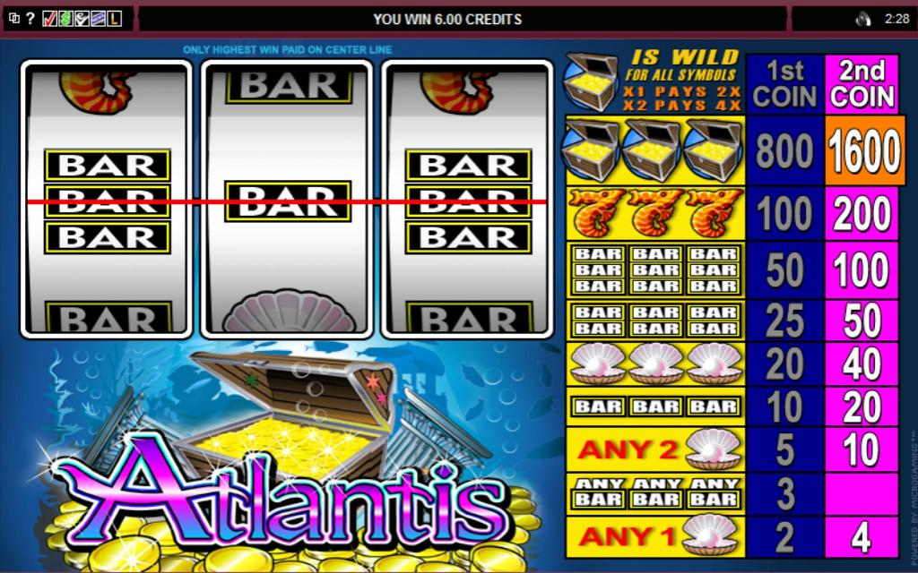 Atlantis Pokie