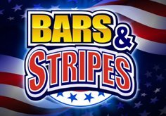 Bars And Stripes Pokie Logo