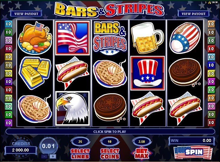 Bars And Stripes Pokie
