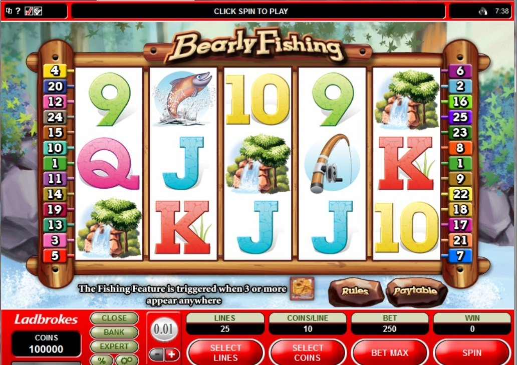 Bearly Fishing Pokie