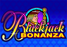 Blackjack Bonanza Pokie Logo