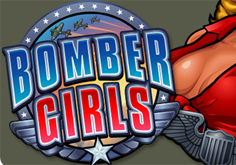Bomber Girls Pokie Logo