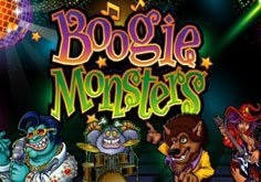 Boogie Monsters Pokie Logo