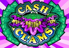 Cash Clams Pokie Logo