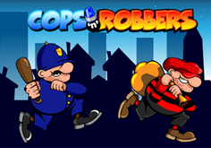 Cops And Robbers Pokie Logo