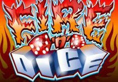 Fire N Dice Pokie Logo