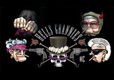 Hells Grannies Pokie Logo