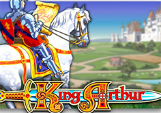 King Arthur Pokie Logo