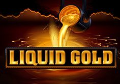 Liquid Gold Pokie Logo